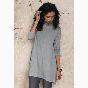 Soft Surroundings Timely Turtleneck Tunic Top M